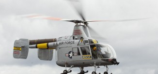 Photo of the Week – Kaman HH-43 Huskie In-Flight