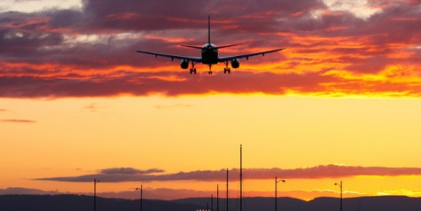 Photo of the Week – Sunset Landing at Portland