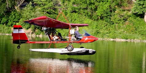 Photo of the Week – Great Time Riding an UL Plane