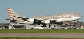Asiana Airlines 747F Crashes Into South Korea Sea