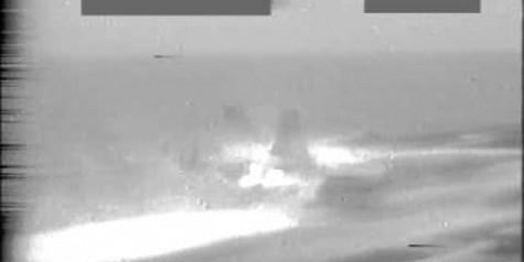 Video – USS Carl Vinson F/A-18C Hornet Fire