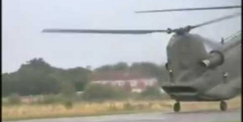 Tactical Landing Video – Sick Chinook CH-47 Skills