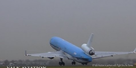 "Video – Last Flight of KLM MD11 ""PH KCK"""