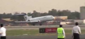 Video – Iran Air Boeing 727 Nose Gear Failure