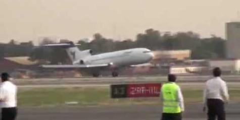 Video – Iran Air Boeing 727 Nose Gear Failure