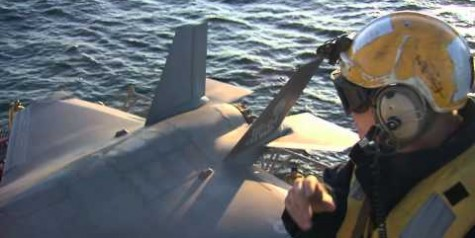 F-35B STOVL Aircraft Carrier Operations Video