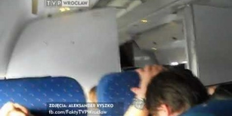 Video From Passenger – LOT Boeing 767 Emergency Landing and Evacuation