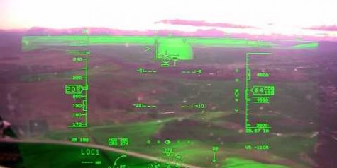 Video – Bombardier Global 6000 HUD in Action