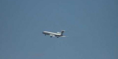 Video – Tupolev Tu-154 Out of Control