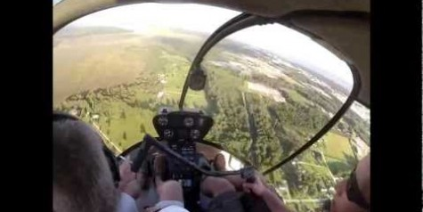 Video – Robinson R-22 Rescues P-51 Mustang