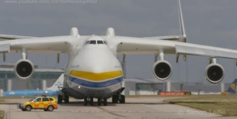 HD Video of the Day – Antonov AN-225 Takeoff at Manchester
