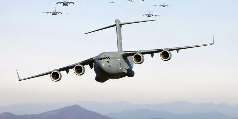 Final Boeing C-17 Globemaster III leaves Long Beach