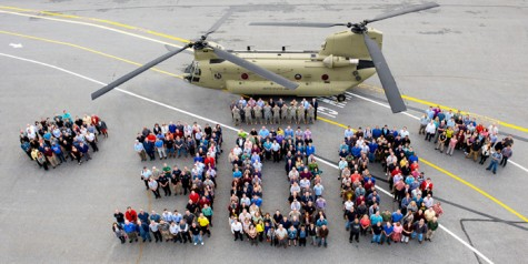 Boeing Delivers 300th CH-47F Chinook to U.S. Army