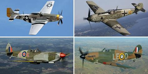Mustang, Spitfire, Hurricane – The Fighters that Brought the Luftwaffe to its Knees