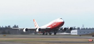Video – First Flight of Boeing 747-8 Intercontinental