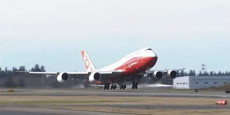 Video – First Flight of Boeing 747-8 Intercontinental