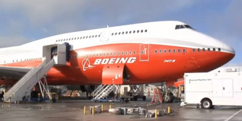 Video – 747-8I Preparation for First Flight