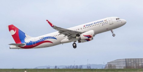 Nepal Airlines Receives First Airbus A320