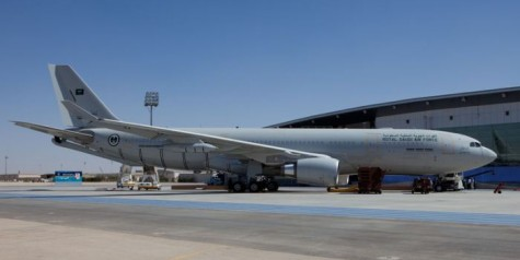 Saudi Arabia Operates First A330 MRTT