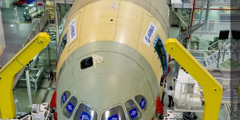 In Pictures – Final Assembly of First A350 XWB