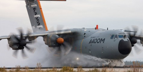 Photo – Airbus Military A400M Water Ingestion Tests