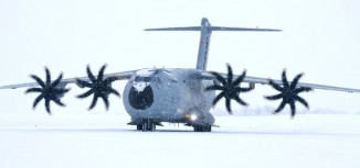 Photos – Airbus A400M Winter Test