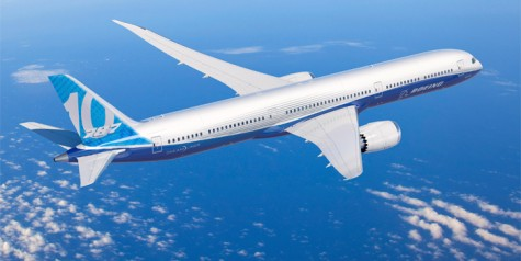 Boeing 787-10 Dreamliner Launched