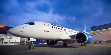 Bombardier CS100 Pictures (Pre-First Flight)