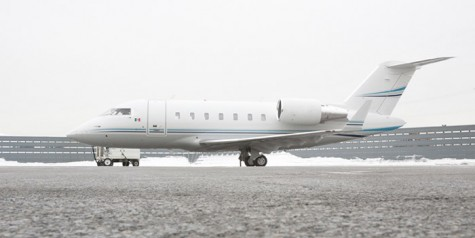 Bombardier Delivers First Challenger 605 to Mexico