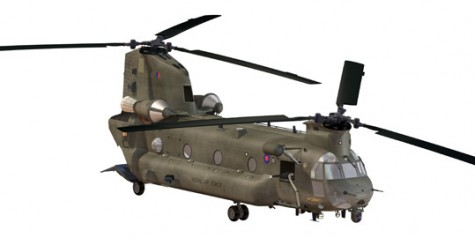 UK Orders 14 New Chinook Helicopters
