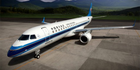 First Embraer 190 Delivered to China's CDB Leasing