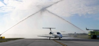 First US-Built Embraer Phenom 100 Makes First Flight