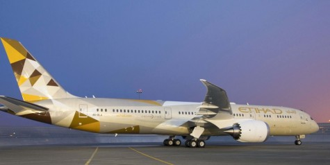 Etihad Airways – First 787-9 Dreamliner Delivered
