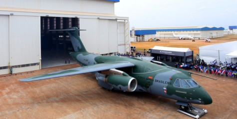 Embraer – Roll out of KC-390