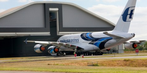 Malaysia Airlines A380 – New Livery Finished