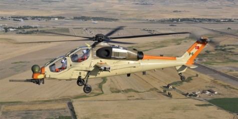 First Flight of T129 Helicopter Prototype (Photo)