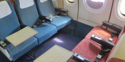 BEA Trident Unusual 70s Seat Layout