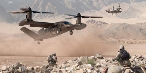 Bell unveils V-280 Valor Tiltrotor Concept