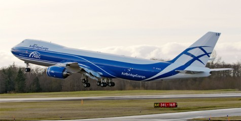 First 747-8 Freighter for AirBridgeCargo