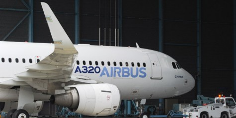 Photos – First Airbus A320 with Sharklets