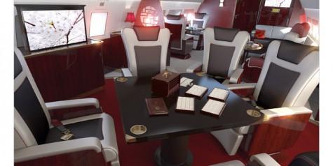 Airbus Unveils New ACJ Cabin Designs