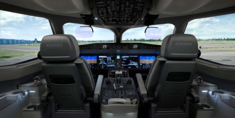 Photos – Bombardier CSeries Flight Deck