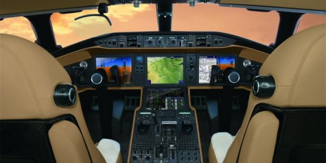 Bombardier Vision Flight Deck Enters Service
