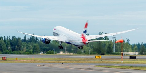 British Airways – First Boeing 787 Dreamliner Delivered