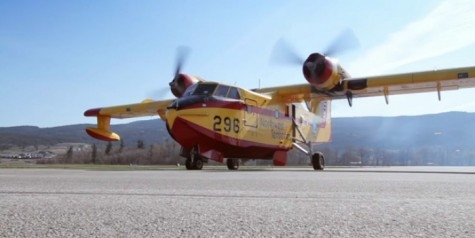 Nice Video – Buffalo Airways Canadair CL-215 Firebomber