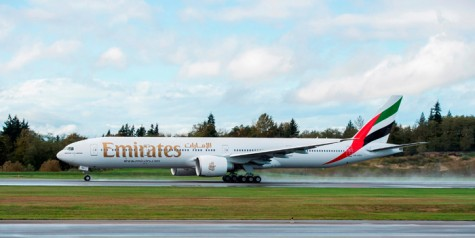 100th Emirates 777-300ER Delivered