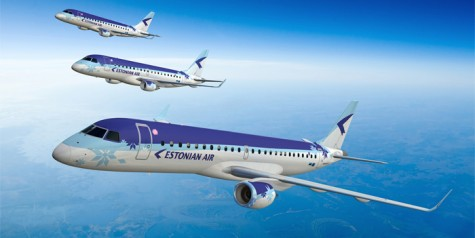 Estonian Air Goes All-Embraer