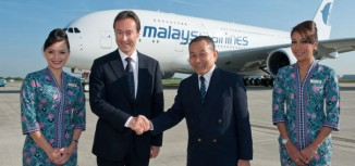 First A380 for Malaysia Airlines