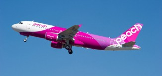 Peach Aviation Receives First A320