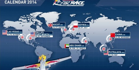 Red Bull Air Race Returns in 2014